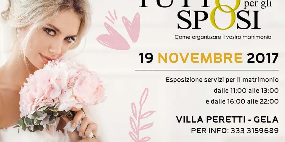 792b9073f1c4 Tutto per gli sposi - 19 novembre 2017 - Style Agency ...